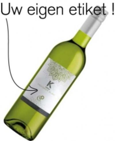 Wilt u een wijnfles met een eigen etiket bestellen?